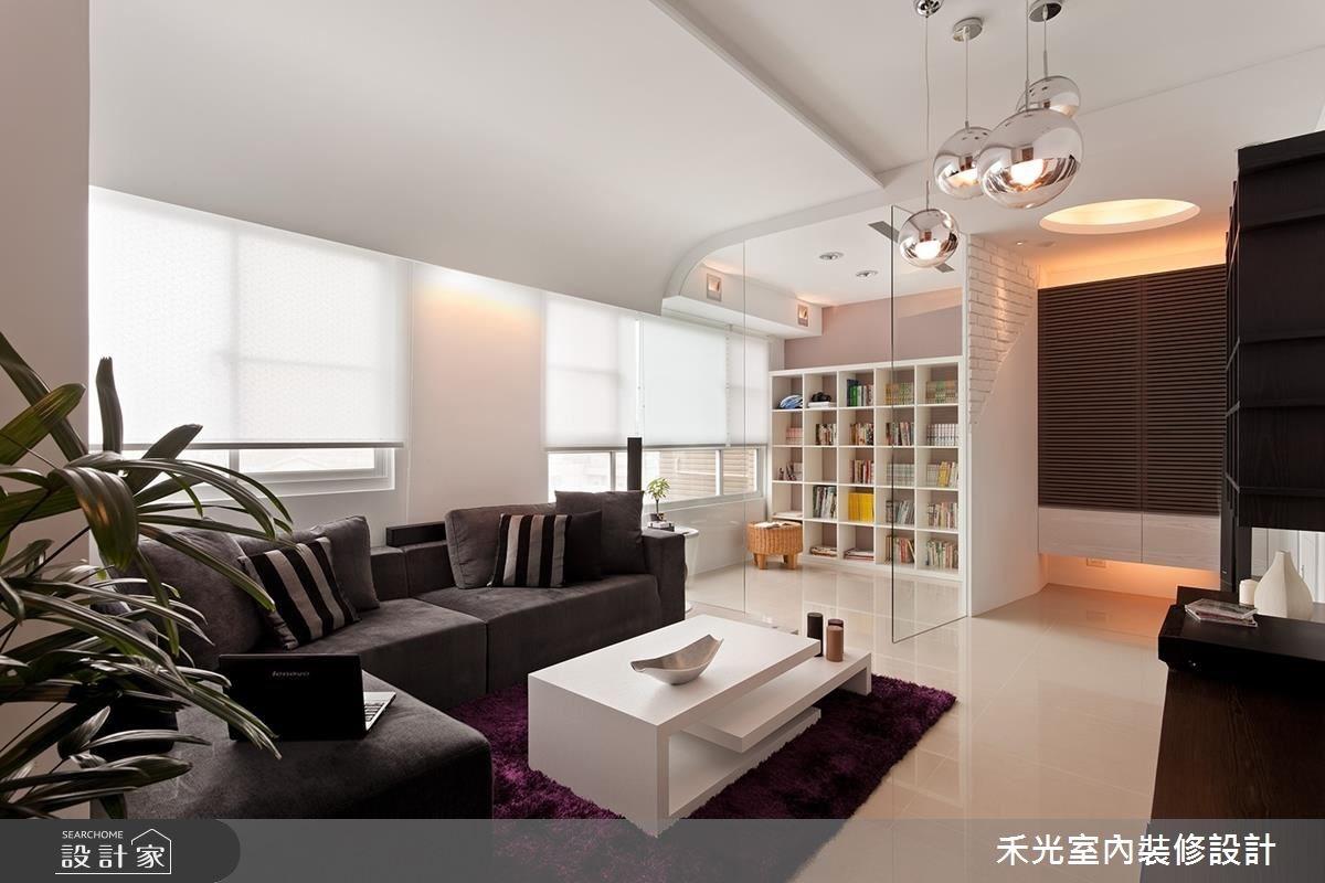18坪新成屋(5年以下)_混搭風案例圖片_禾光室內裝修設計有限公司_禾光_07之7