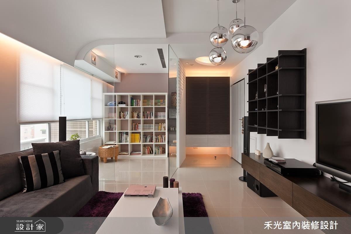 18坪新成屋(5年以下)_混搭風案例圖片_禾光室內裝修設計有限公司_禾光_07之8