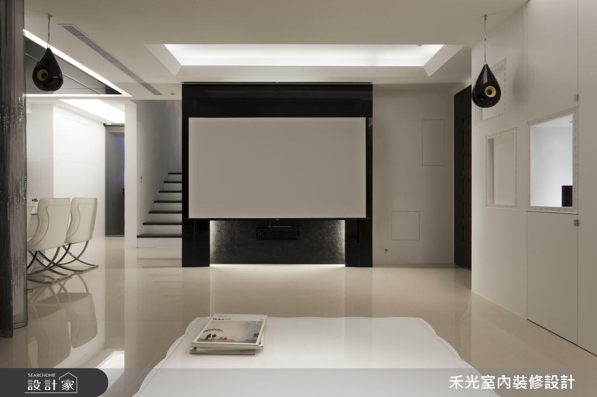 45坪新成屋(5年以下)_奢華風案例圖片_禾光室內裝修設計有限公司_禾光_10之3