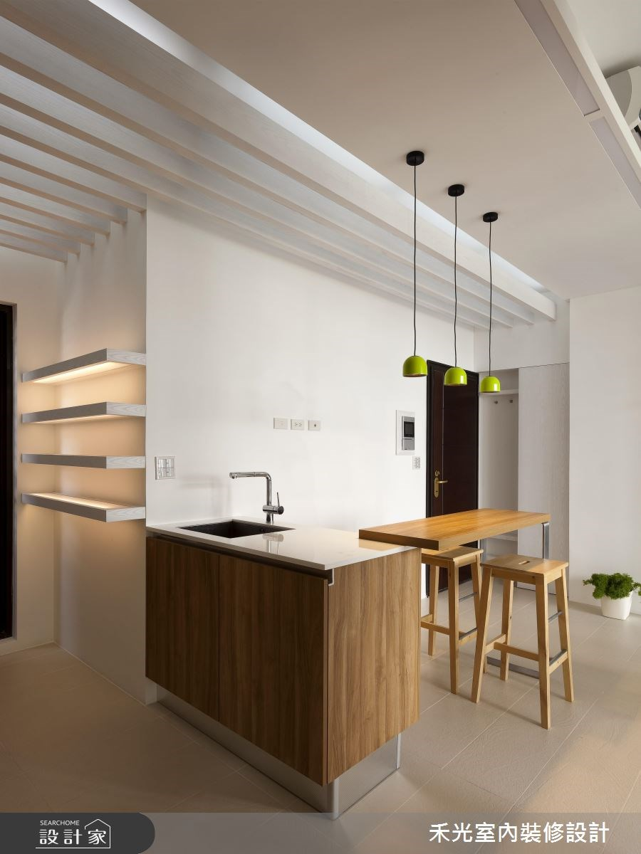 17坪新成屋(5年以下)_簡約風案例圖片_禾光室內裝修設計有限公司_禾光_11之3