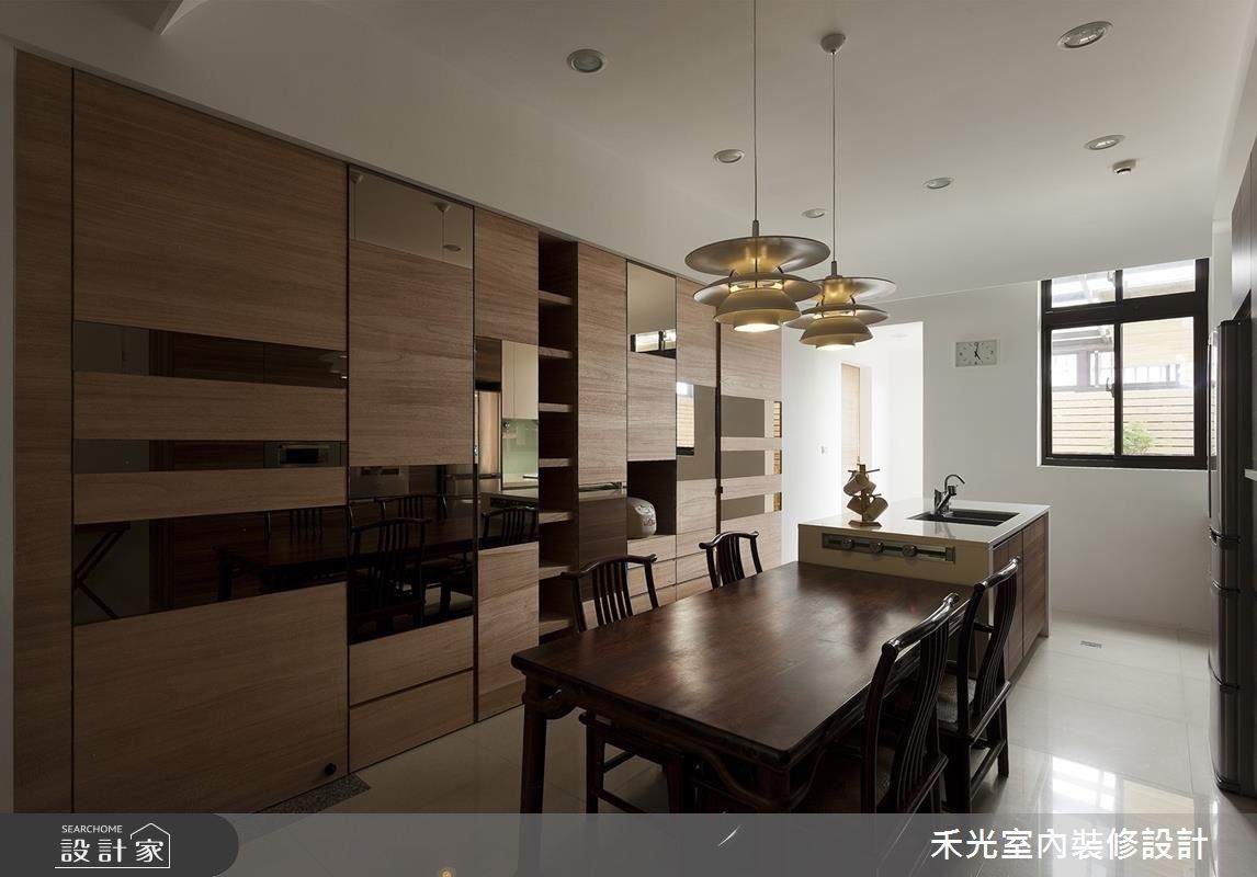 60坪新成屋(5年以下)_混搭風案例圖片_禾光室內裝修設計有限公司_禾光_15之6