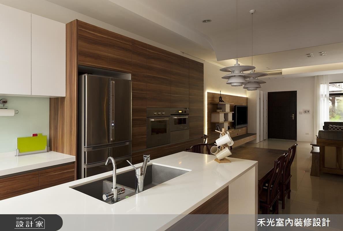 60坪新成屋(5年以下)_混搭風案例圖片_禾光室內裝修設計有限公司_禾光_15之5