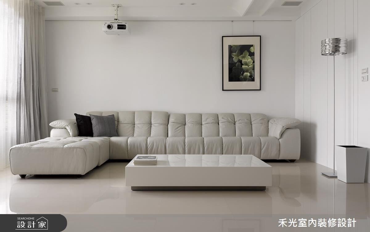 46坪新成屋(5年以下)_簡約風案例圖片_禾光室內裝修設計有限公司_禾光_回之2