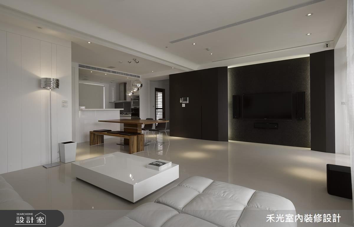 46坪新成屋(5年以下)_簡約風案例圖片_禾光室內裝修設計有限公司_禾光_回之3