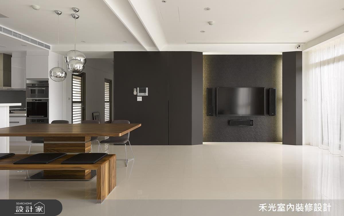 46坪新成屋(5年以下)_簡約風案例圖片_禾光室內裝修設計有限公司_禾光_回之4