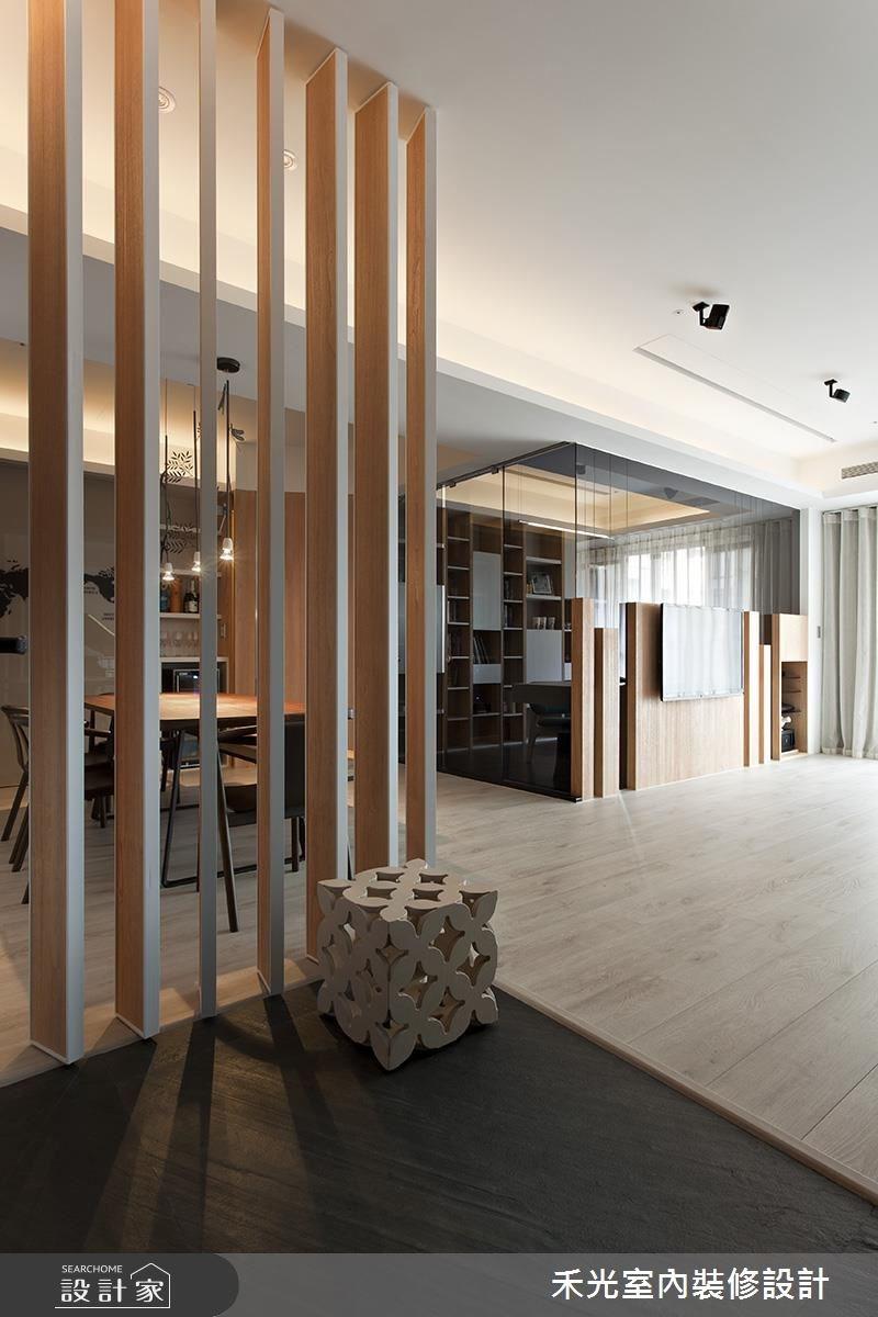 41坪新成屋(5年以下)_簡約風案例圖片_禾光室內裝修設計有限公司_禾光_等化器.微笑曲線之1