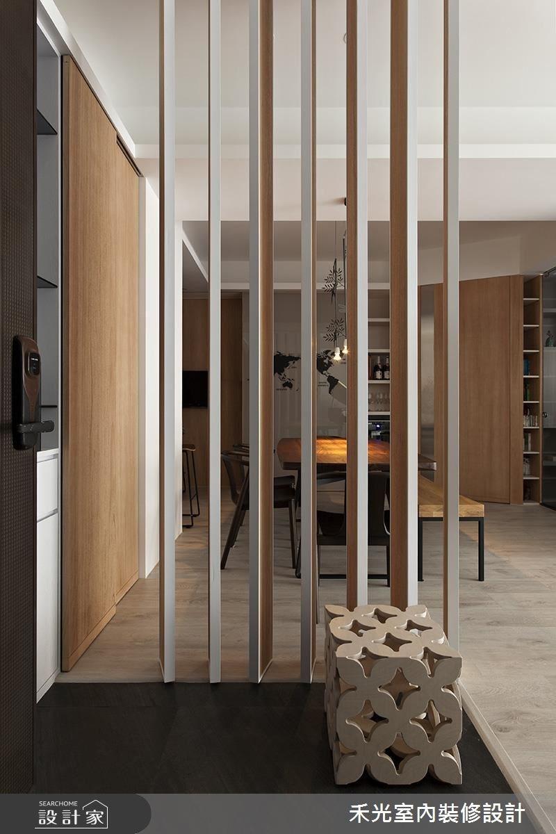 41坪新成屋(5年以下)_簡約風案例圖片_禾光室內裝修設計有限公司_禾光_等化器.微笑曲線之2