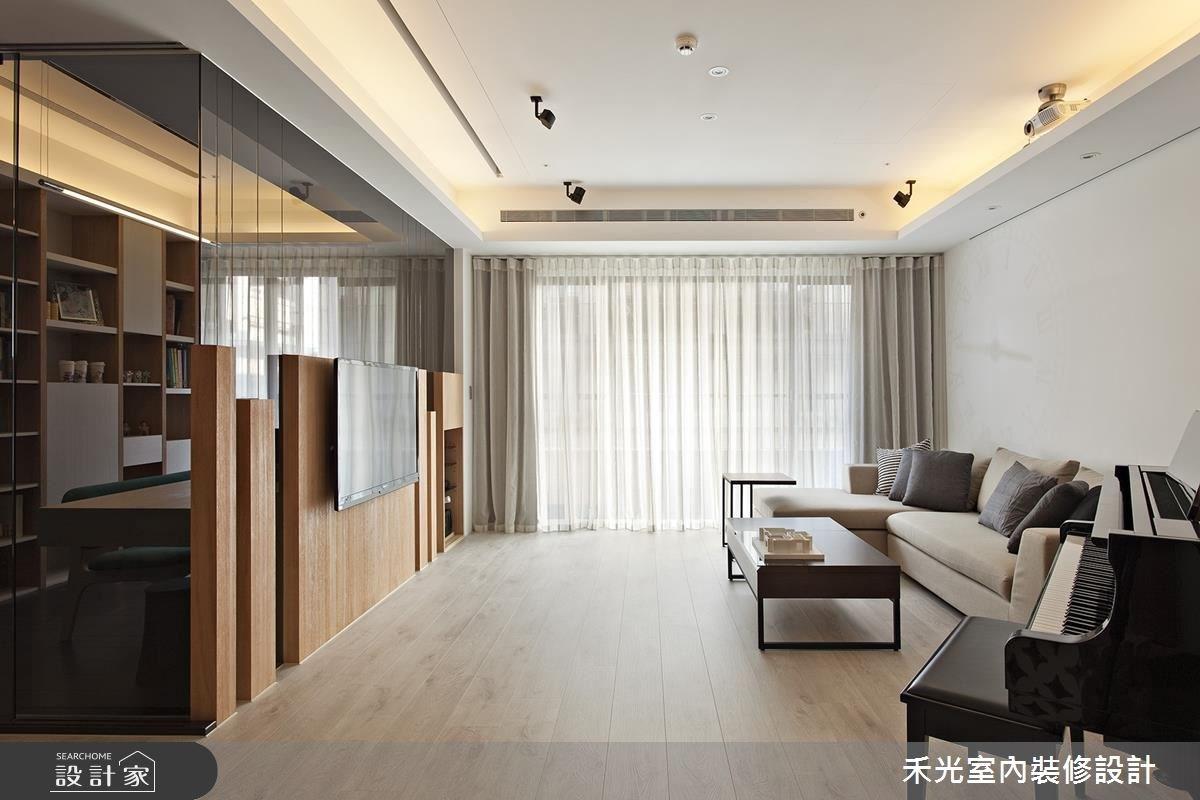 41坪新成屋(5年以下)_簡約風案例圖片_禾光室內裝修設計有限公司_禾光_等化器.微笑曲線之3