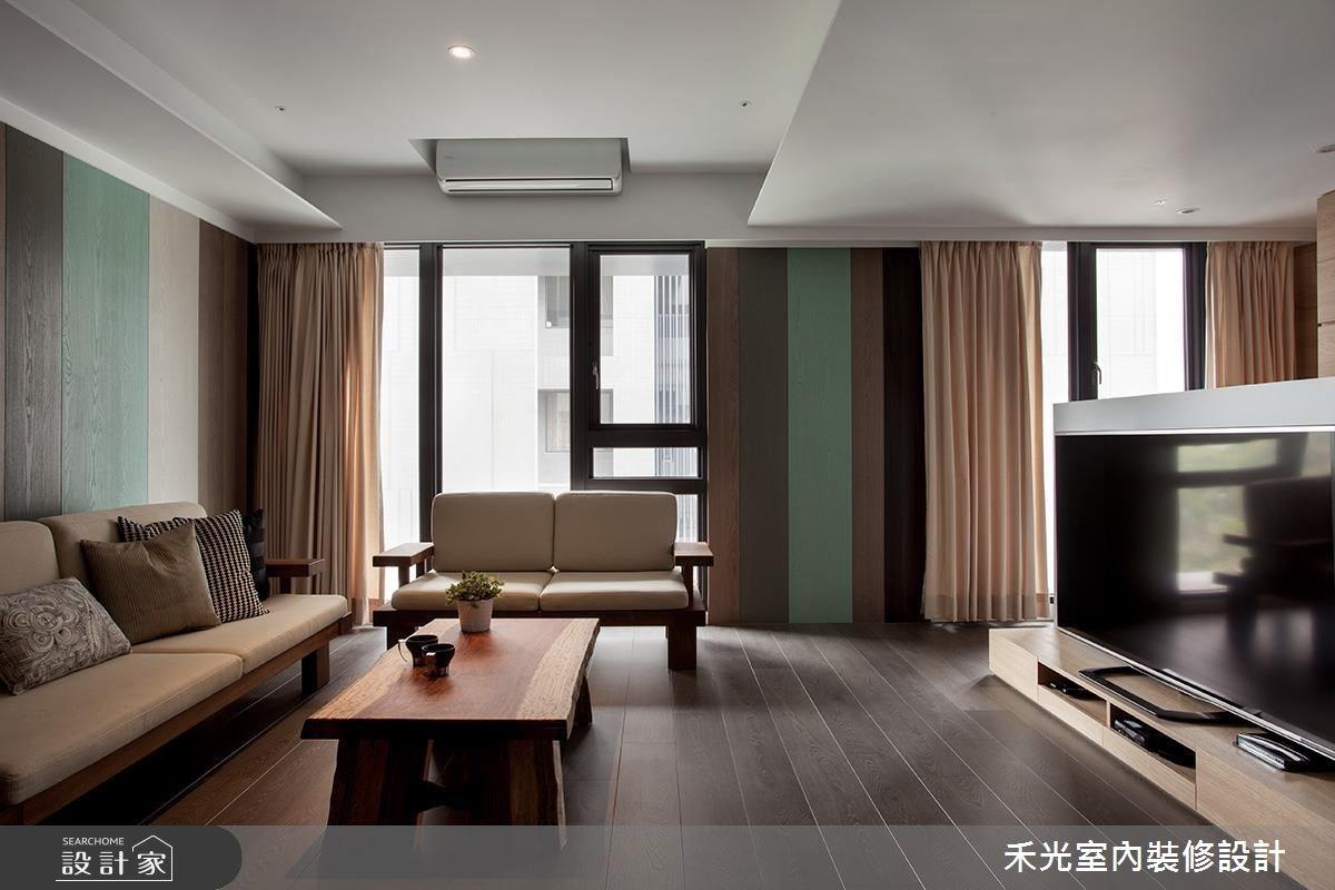 28坪_休閒風案例圖片_禾光室內裝修設計有限公司_禾光_島谷之4