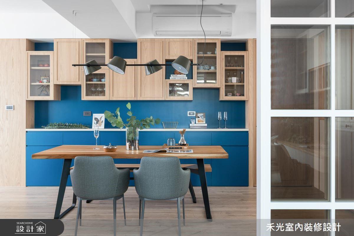 45坪老屋(16~30年)_混搭風餐廳案例圖片_禾光室內裝修設計有限公司_禾光_理性+感性之4