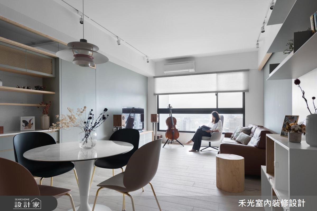 29坪新成屋(5年以下)_混搭風餐廳案例圖片_禾光室內裝修設計有限公司_禾光_春澗之13