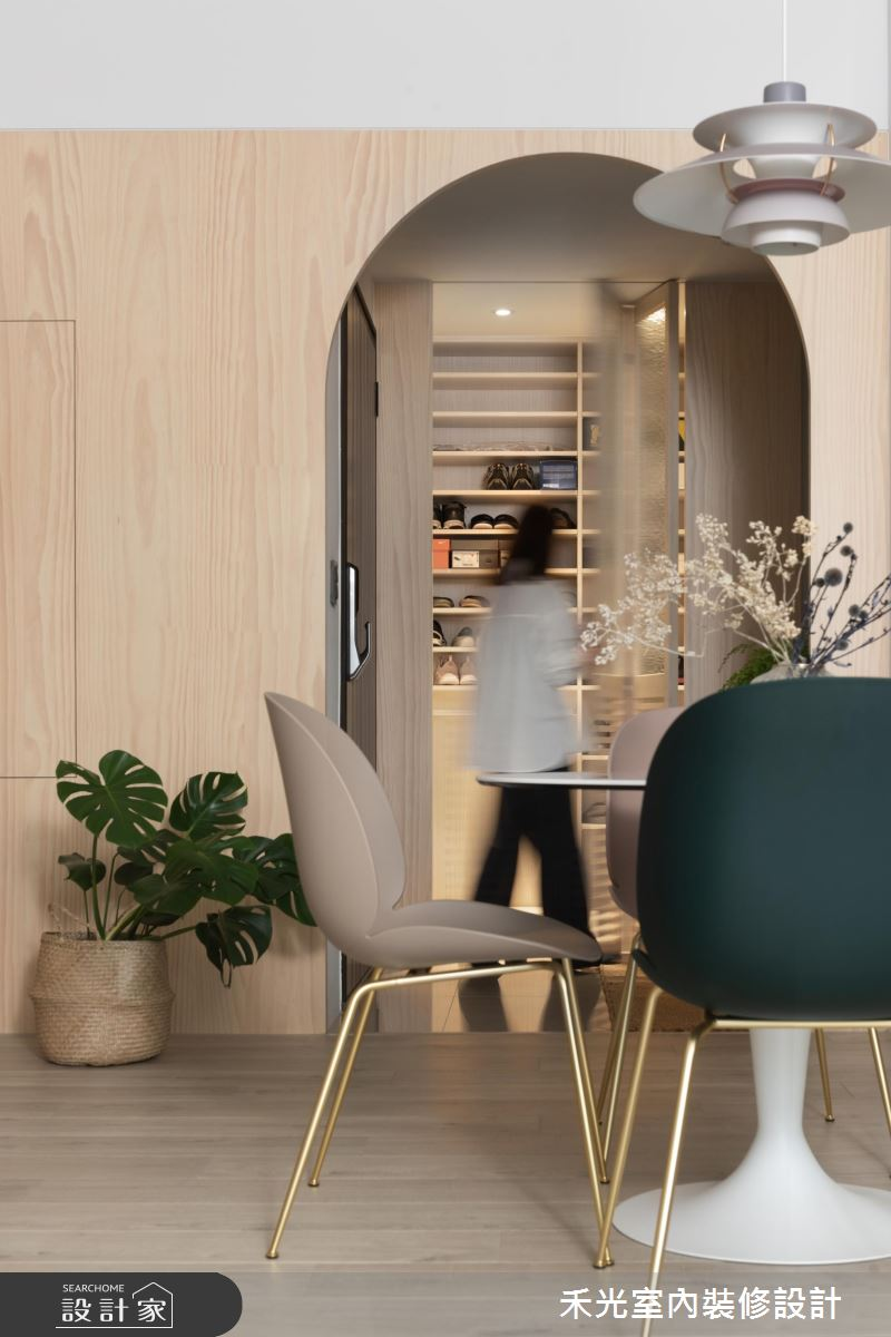 29坪新成屋(5年以下)_混搭風餐廳案例圖片_禾光室內裝修設計有限公司_禾光_春澗之5
