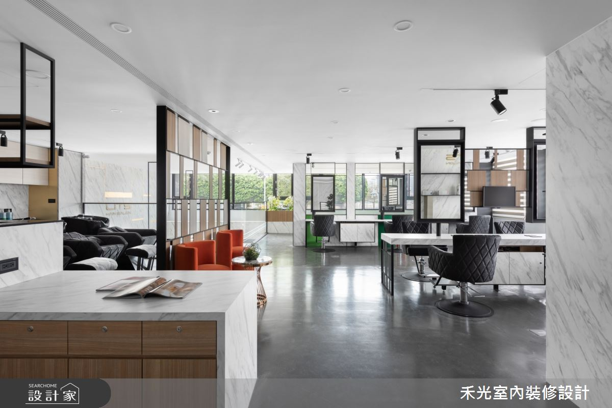80坪新成屋(5年以下)_現代風商業空間案例圖片_禾光室內裝修設計有限公司_禾光_髮廊之17