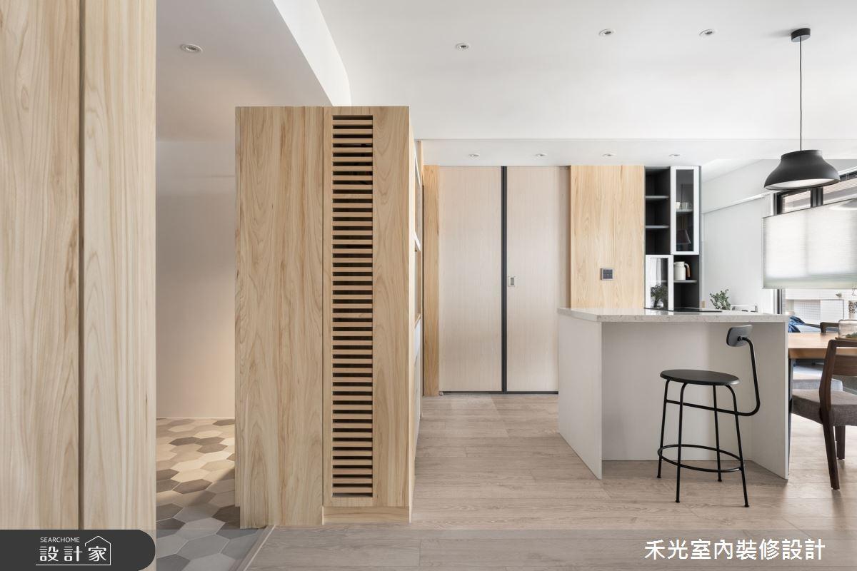 48坪新成屋(5年以下)_日式無印風案例圖片_禾光室內裝修設計有限公司_禾光_依曦 . 迴味之4