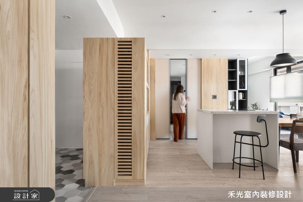 48坪新成屋(5年以下)_日式無印風案例圖片_禾光室內裝修設計有限公司_禾光_依曦 . 迴味之5