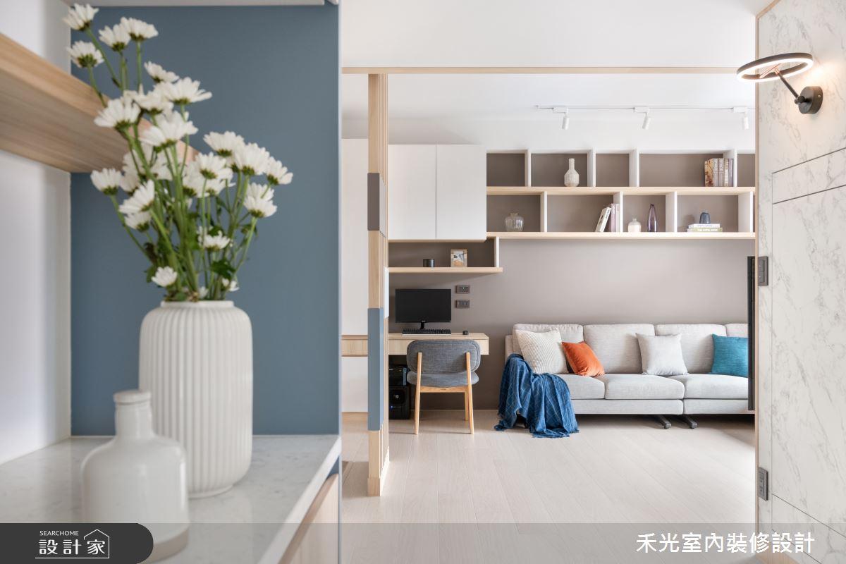 15坪新成屋(5年以下)_日式無印風案例圖片_禾光室內裝修設計有限公司_禾光_動靜之間 -- 探索空間多樣性之10