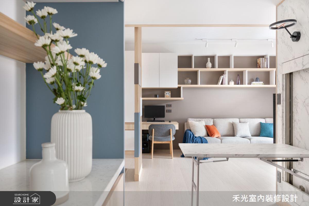 15坪新成屋(5年以下)_日式無印風案例圖片_禾光室內裝修設計有限公司_禾光_動靜之間 -- 探索空間多樣性之11