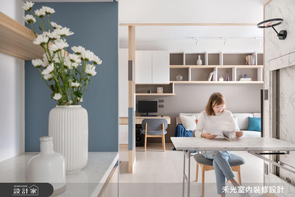 15坪新成屋(5年以下)_日式無印風案例圖片_禾光室內裝修設計有限公司_禾光_動靜之間 -- 探索空間多樣性之12