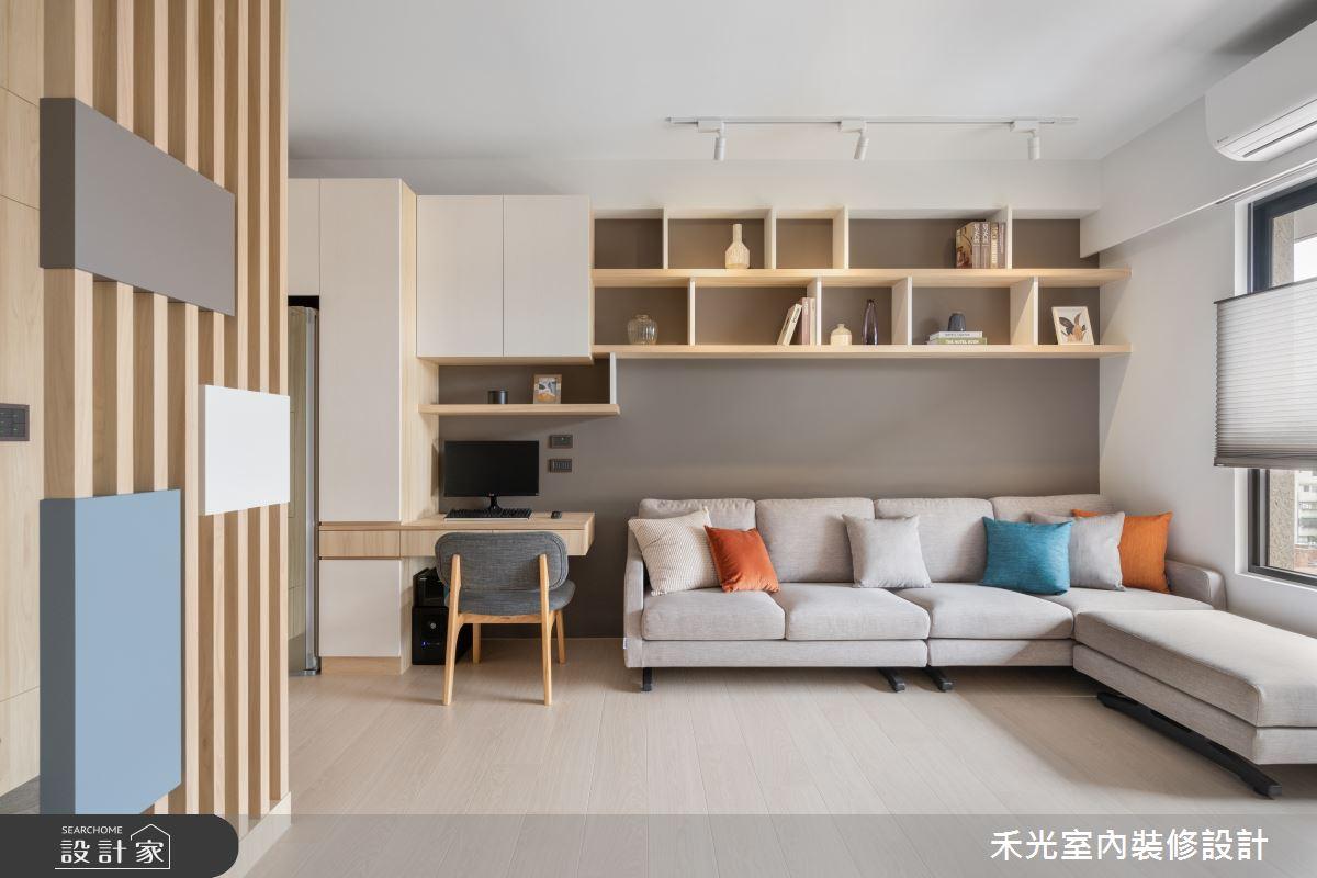15坪新成屋(5年以下)_日式無印風案例圖片_禾光室內裝修設計有限公司_禾光_動靜之間 -- 探索空間多樣性之4
