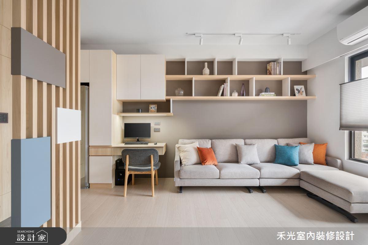 15坪新成屋(5年以下)_日式無印風案例圖片_禾光室內裝修設計有限公司_禾光_動靜之間 -- 探索空間多樣性之5