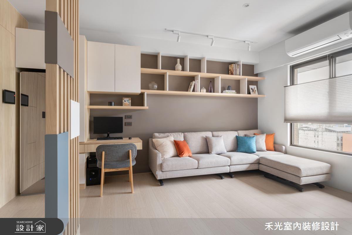 15坪新成屋(5年以下)_日式無印風案例圖片_禾光室內裝修設計有限公司_禾光_動靜之間 -- 探索空間多樣性之6