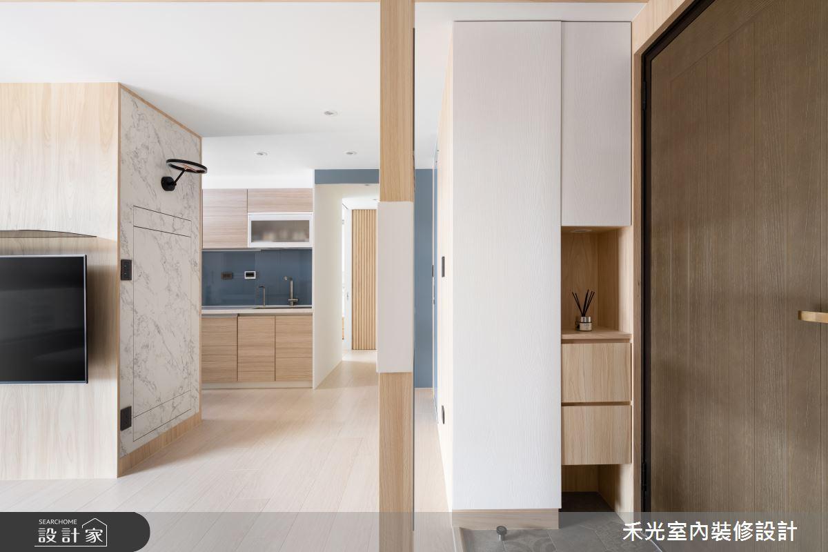 15坪新成屋(5年以下)_日式無印風案例圖片_禾光室內裝修設計有限公司_禾光_動靜之間 -- 探索空間多樣性之1