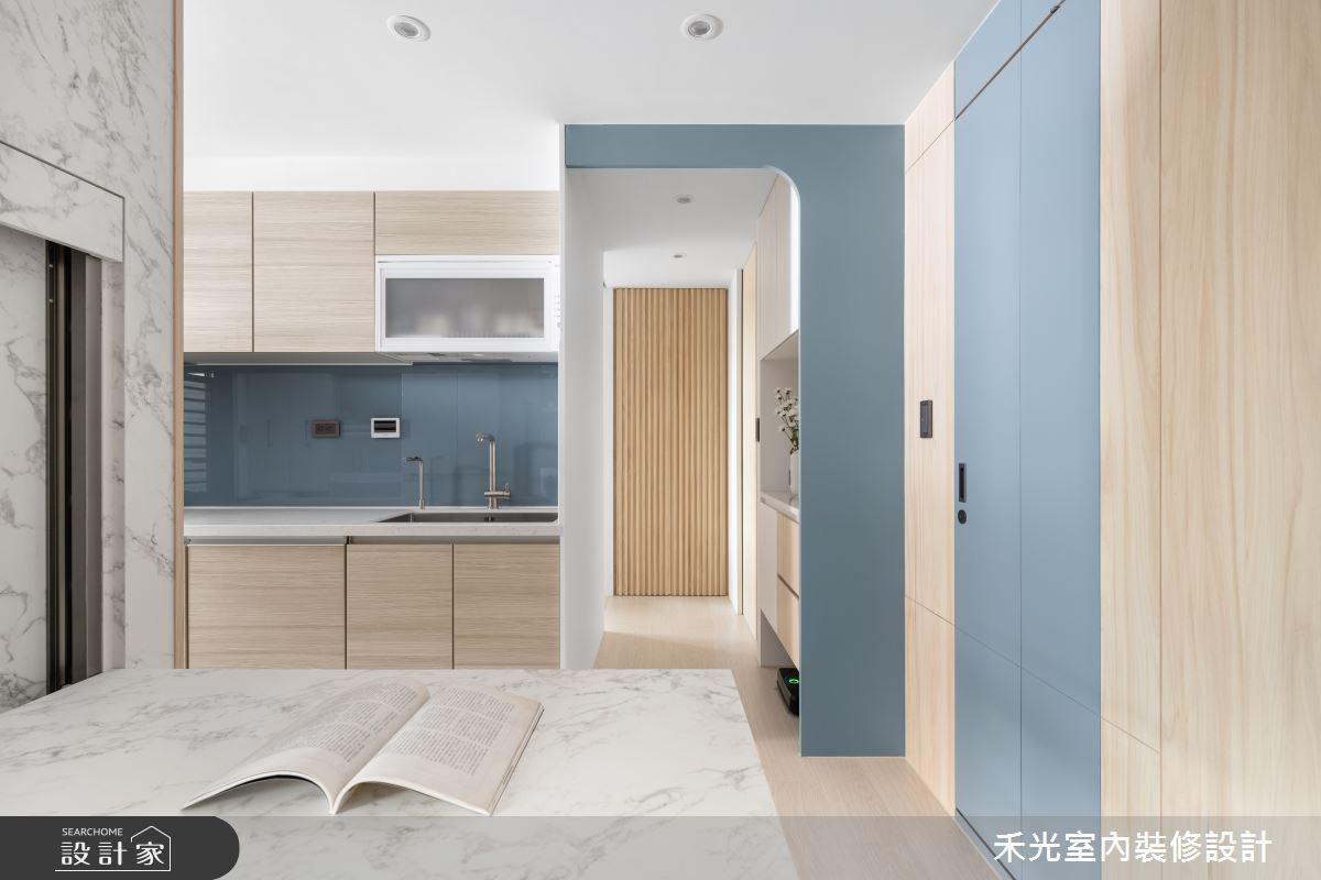 15坪新成屋(5年以下)_日式無印風案例圖片_禾光室內裝修設計有限公司_禾光_動靜之間 -- 探索空間多樣性之13