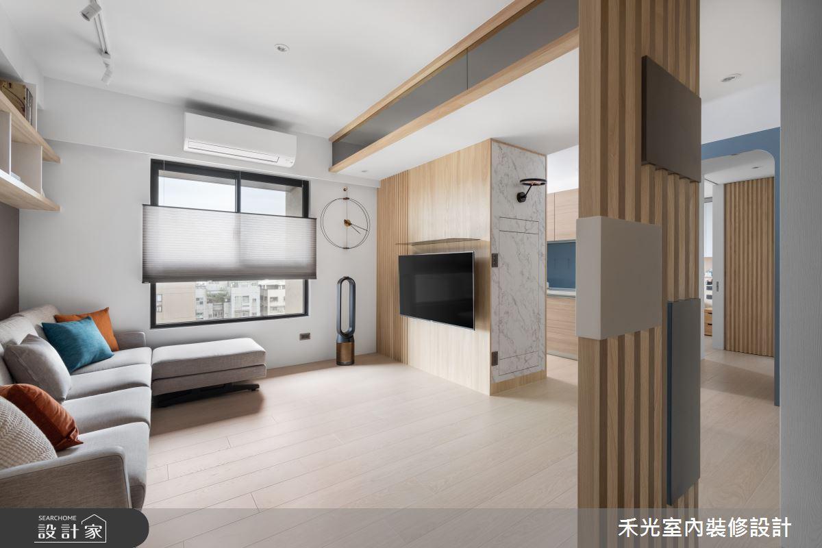 15坪新成屋(5年以下)_日式無印風案例圖片_禾光室內裝修設計有限公司_禾光_動靜之間 -- 探索空間多樣性之3