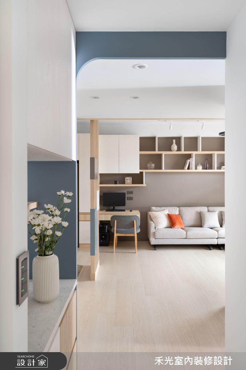 15坪新成屋(5年以下)_日式無印風案例圖片_禾光室內裝修設計有限公司_禾光_動靜之間 -- 探索空間多樣性之9
