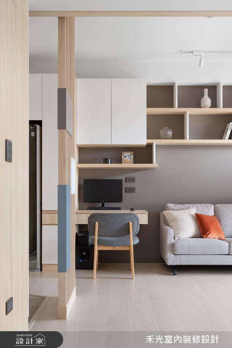 15坪新成屋(5年以下)_日式無印風案例圖片_禾光室內裝修設計有限公司_禾光_動靜之間 -- 探索空間多樣性之8