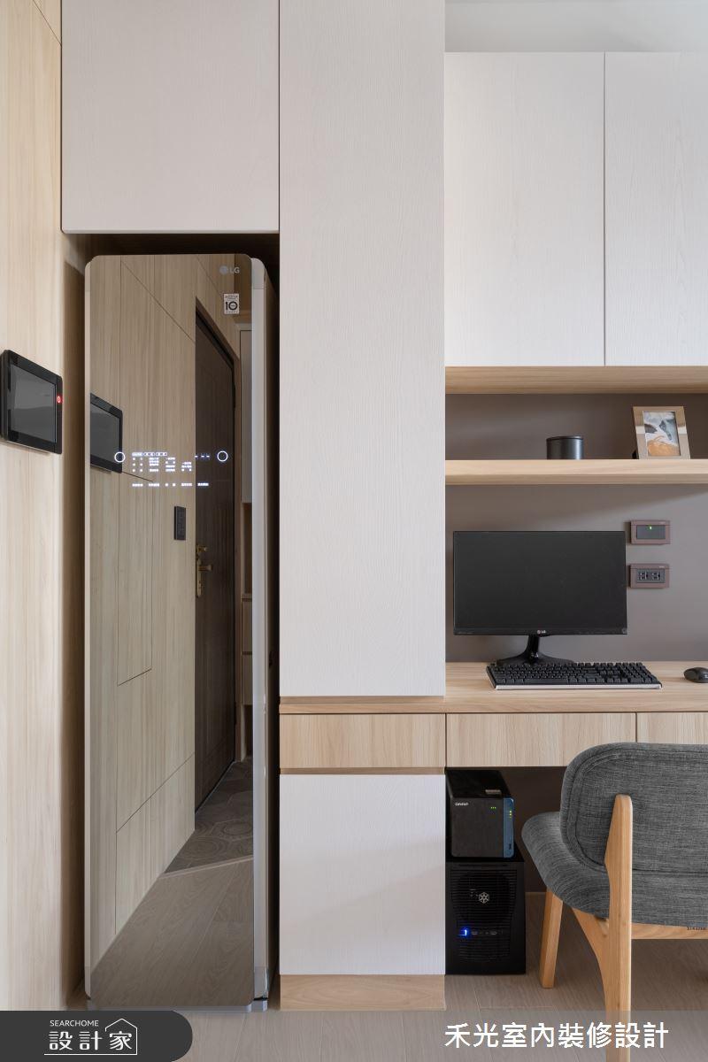 15坪新成屋(5年以下)_日式無印風案例圖片_禾光室內裝修設計有限公司_禾光_動靜之間 -- 探索空間多樣性之7
