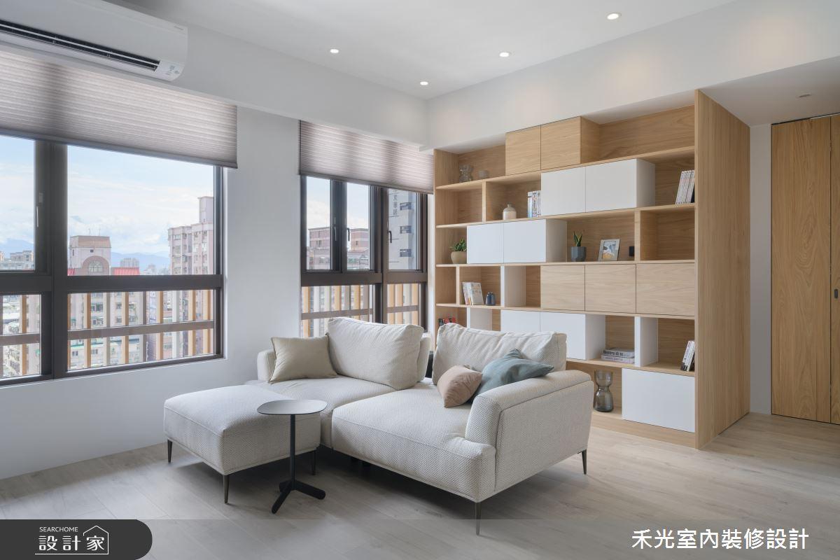 19坪新成屋(5年以下)_混搭風案例圖片_禾光室內裝修設計有限公司_禾光_47之3