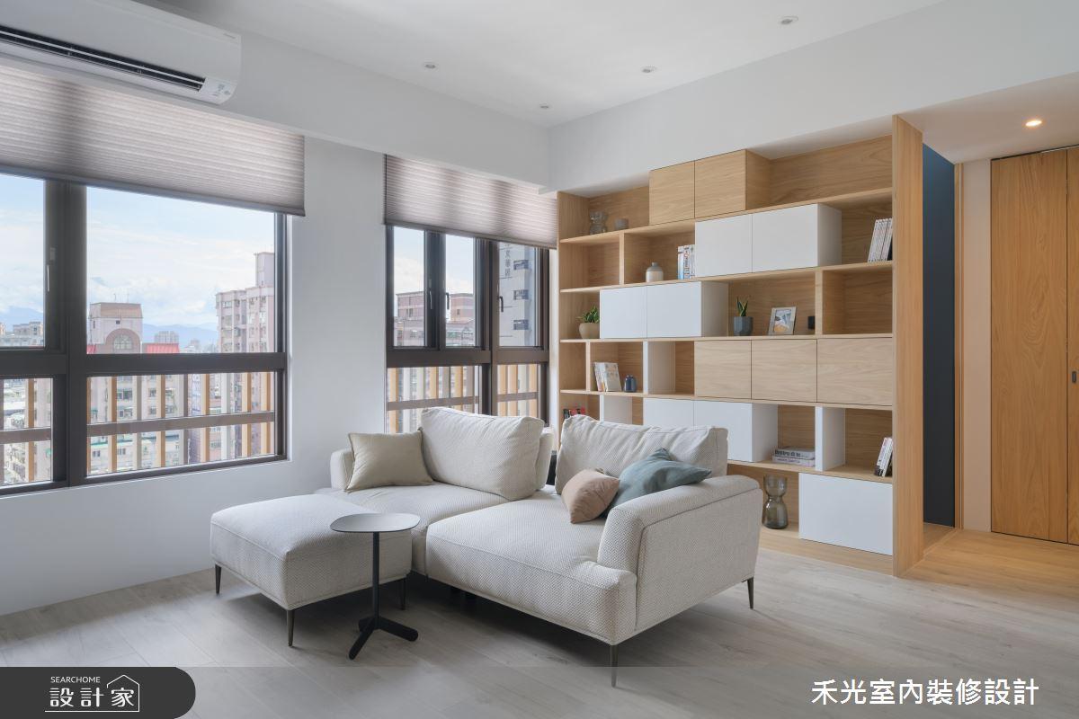 19坪新成屋(5年以下)_混搭風案例圖片_禾光室內裝修設計有限公司_禾光_47之4