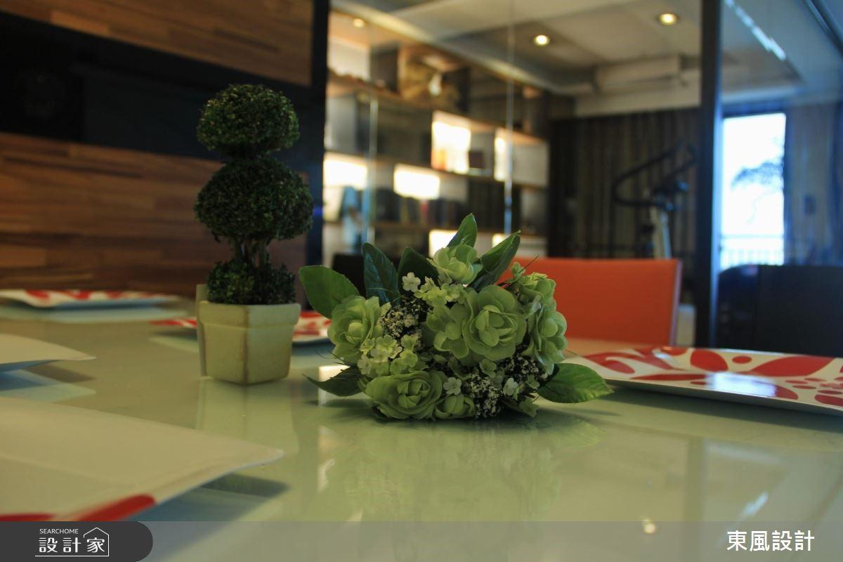 50坪新成屋(5年以下)_奢華風餐廳家庭健身房案例圖片_東風室內設計_東風_01之12