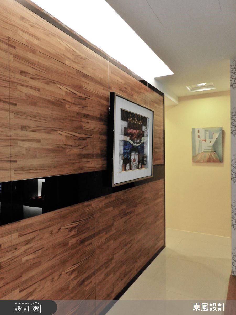 50坪新成屋(5年以下)_奢華風走廊案例圖片_東風室內設計_東風_01之8
