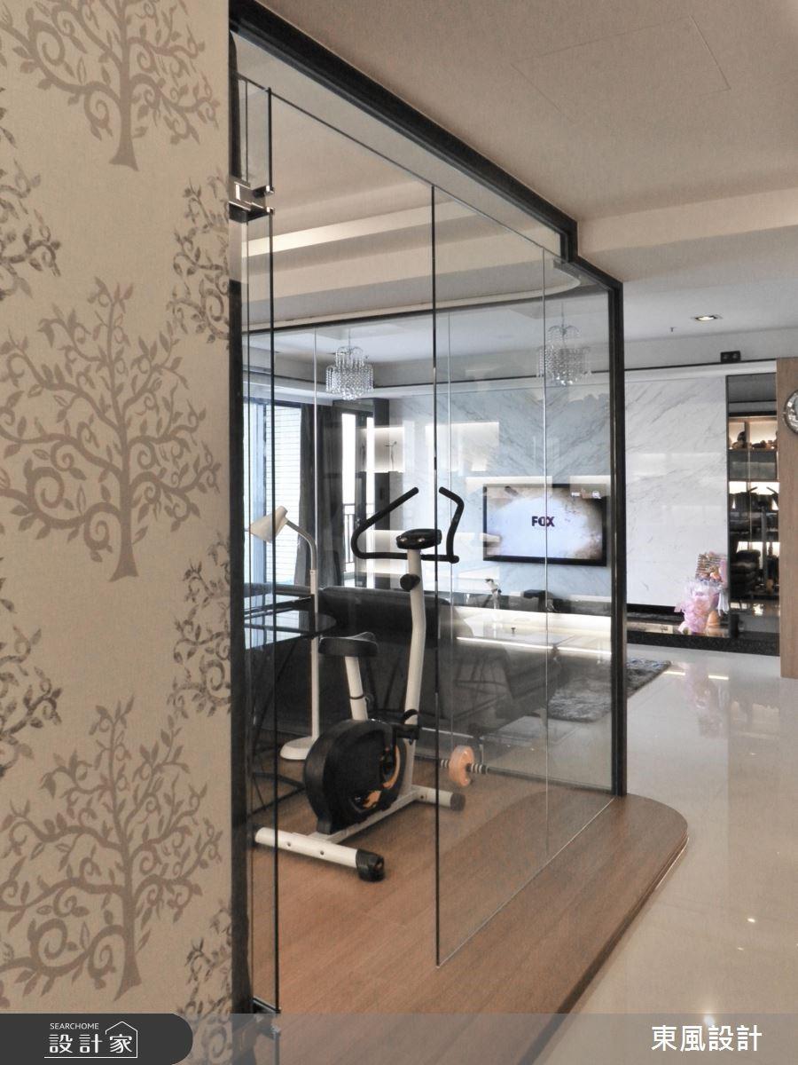 50坪新成屋(5年以下)_奢華風家庭健身房案例圖片_東風室內設計_東風_01之7