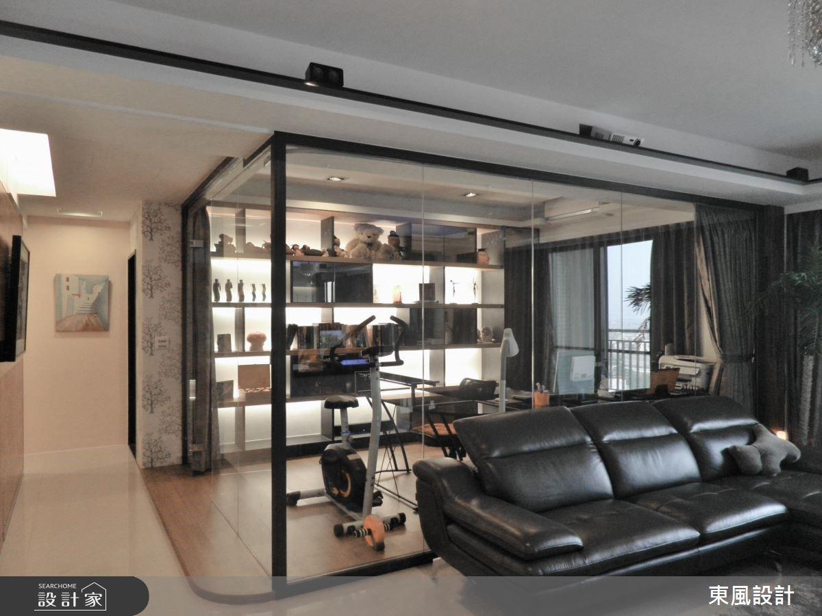 50坪新成屋(5年以下)_奢華風家庭健身房案例圖片_東風室內設計_東風_01之4