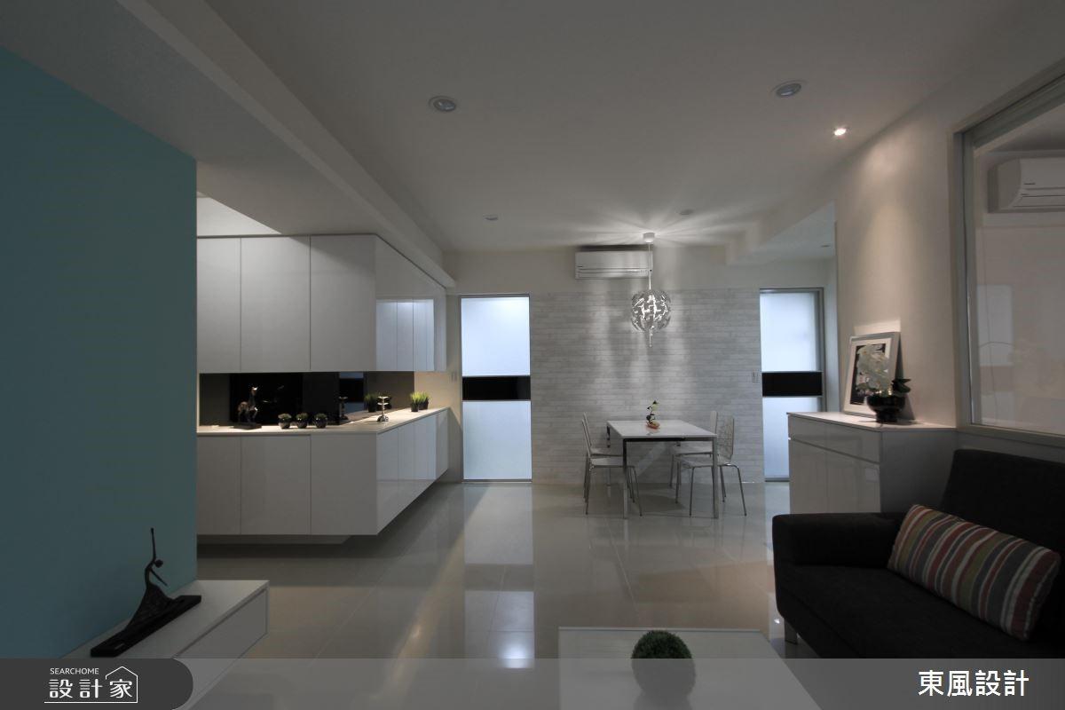 28坪中古屋(5~15年)_簡約風餐廳案例圖片_東風室內設計_東風_03之2