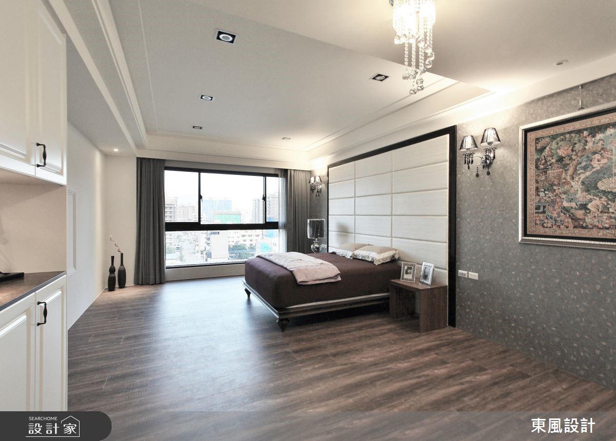 100坪新成屋(5年以下)_新古典臥室案例圖片_東風室內設計_東風_05之11