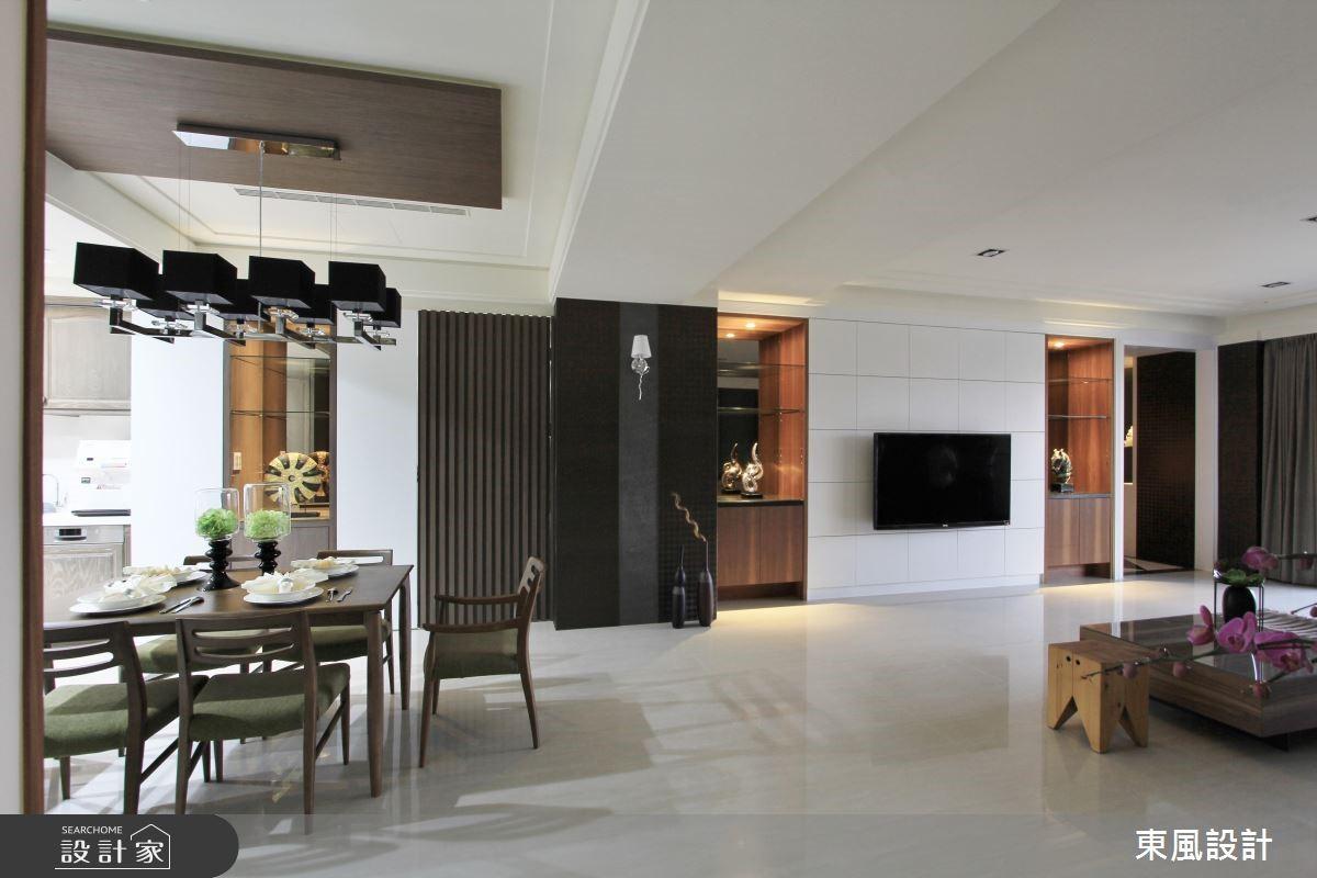 100坪新成屋(5年以下)_新古典餐廳案例圖片_東風室內設計_東風_05之8