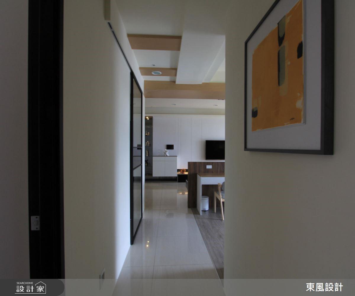 42坪新成屋(5年以下)_北歐風走廊案例圖片_東風室內設計_東風_07之6
