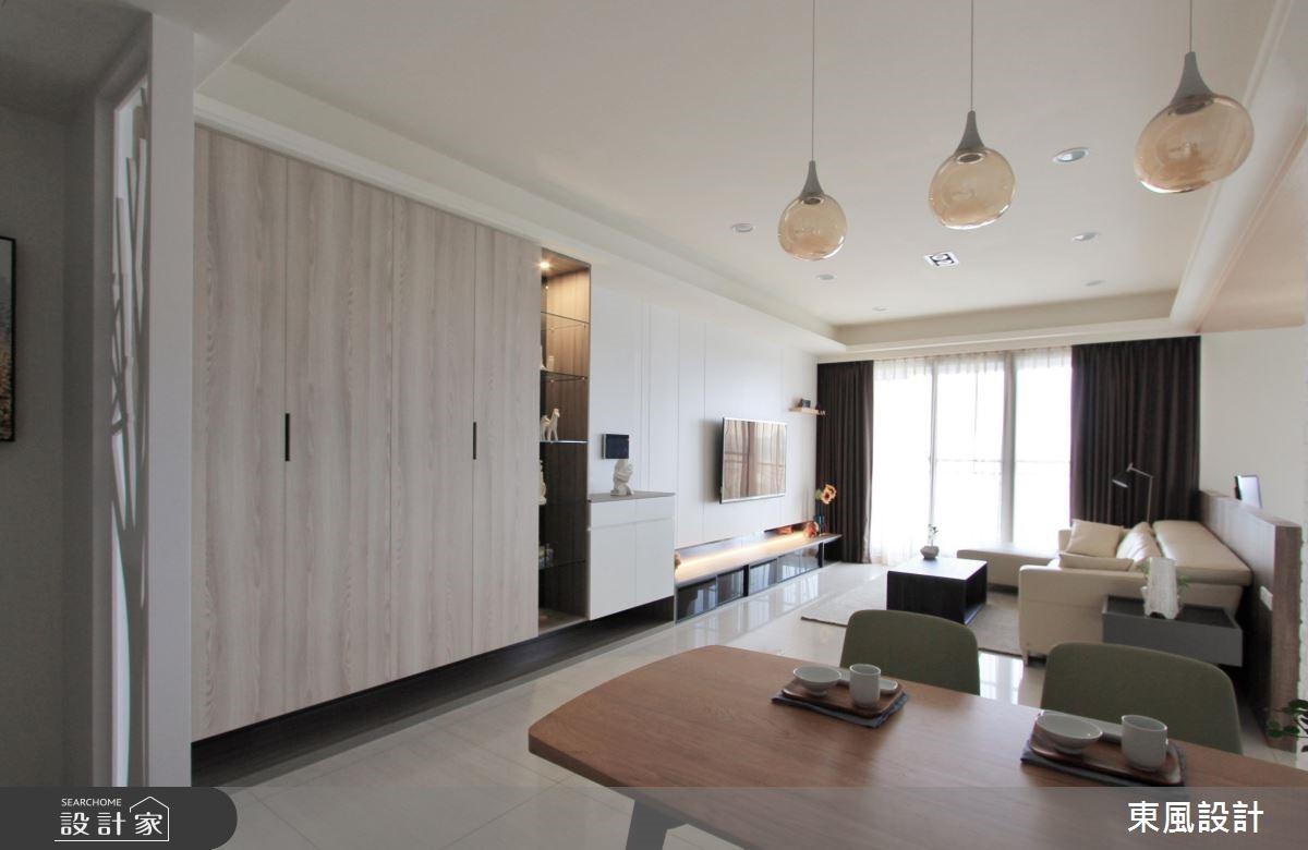 42坪新成屋(5年以下)_北歐風餐廳案例圖片_東風室內設計_東風_07之2