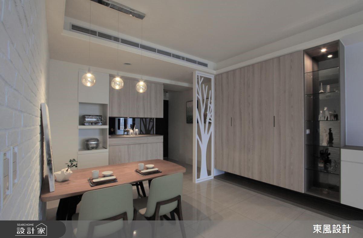 42坪新成屋(5年以下)_北歐風餐廳案例圖片_東風室內設計_東風_07之4