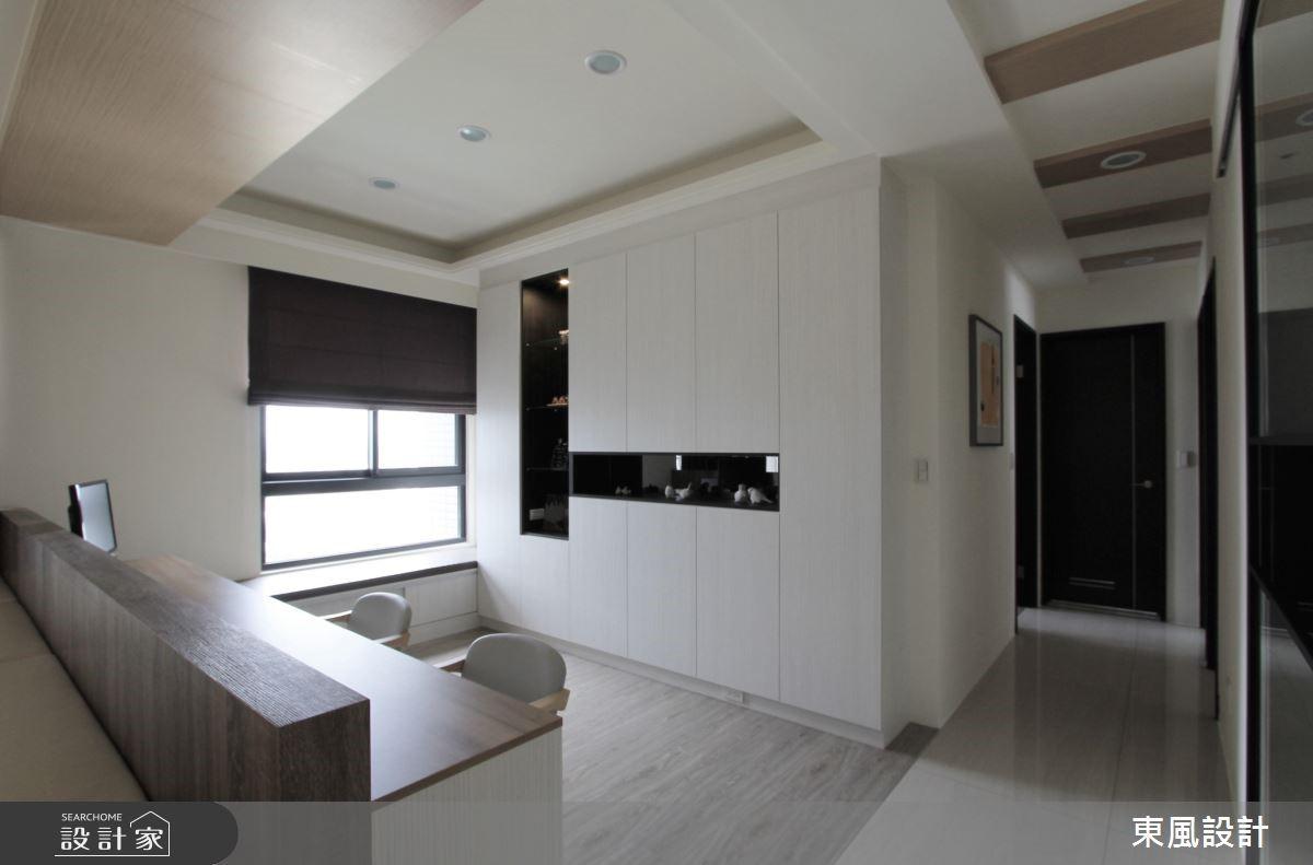 42坪新成屋(5年以下)_北歐風書房走廊案例圖片_東風室內設計_東風_07之7