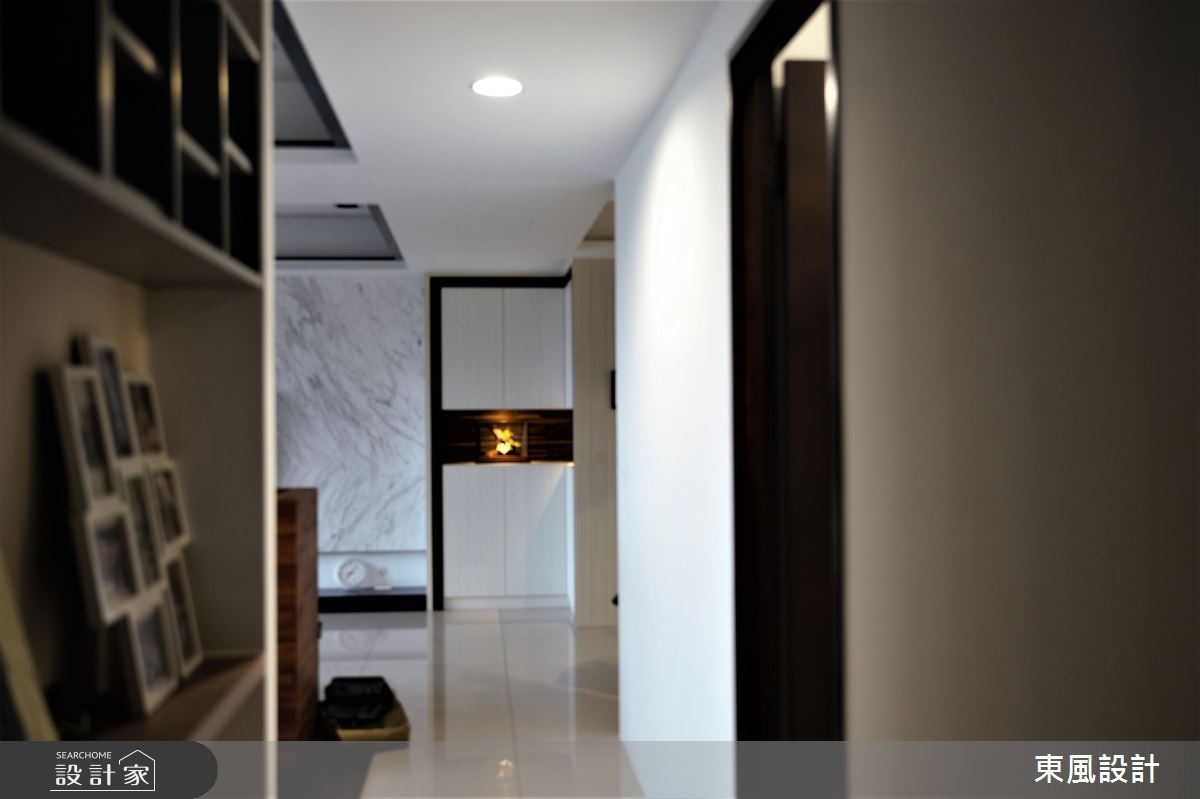 50坪新成屋(5年以下)_現代風走廊案例圖片_東風室內設計_東風_13之10