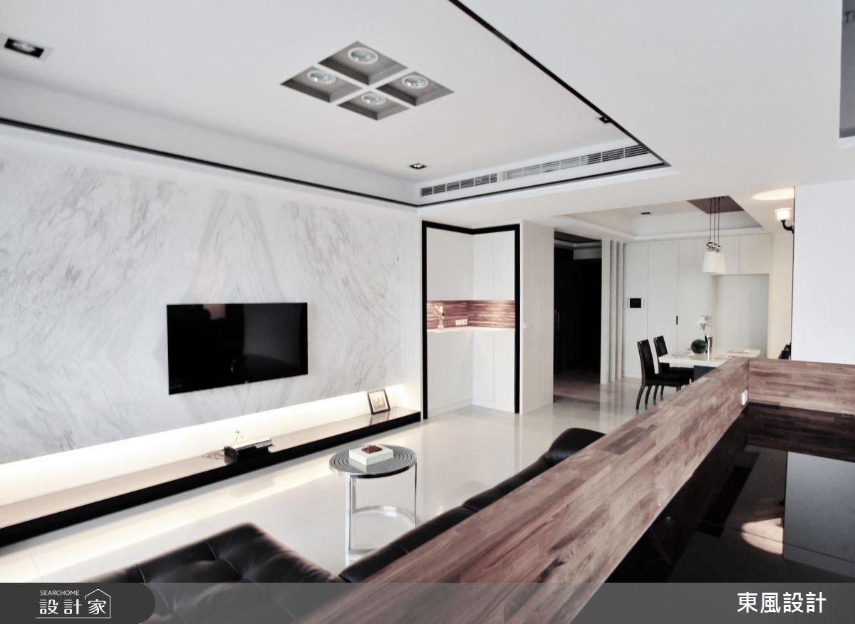 50坪新成屋(5年以下)_現代風玄關案例圖片_東風室內設計_東風_13之2