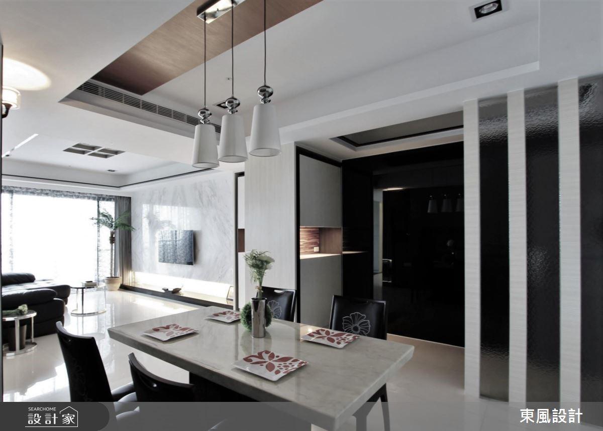 50坪新成屋(5年以下)_現代風餐廳案例圖片_東風室內設計_東風_13之9