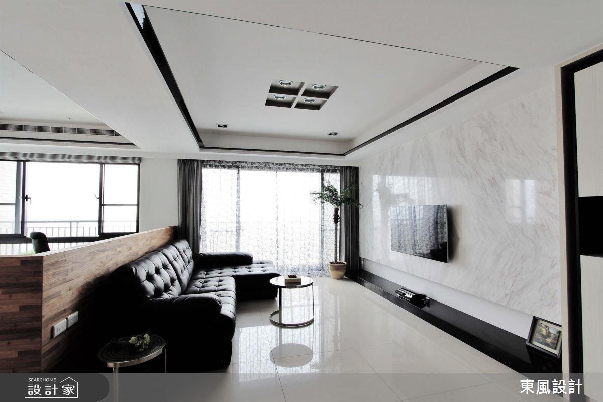 50坪新成屋(5年以下)_現代風玄關案例圖片_東風室內設計_東風_13之5