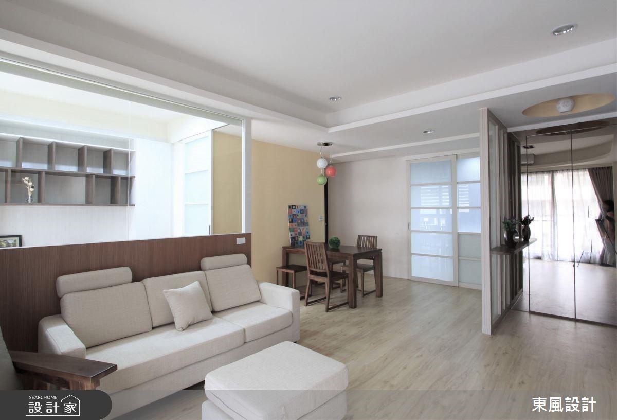 30坪新成屋(5年以下)_北歐風客廳案例圖片_東風室內設計_東風_08之3