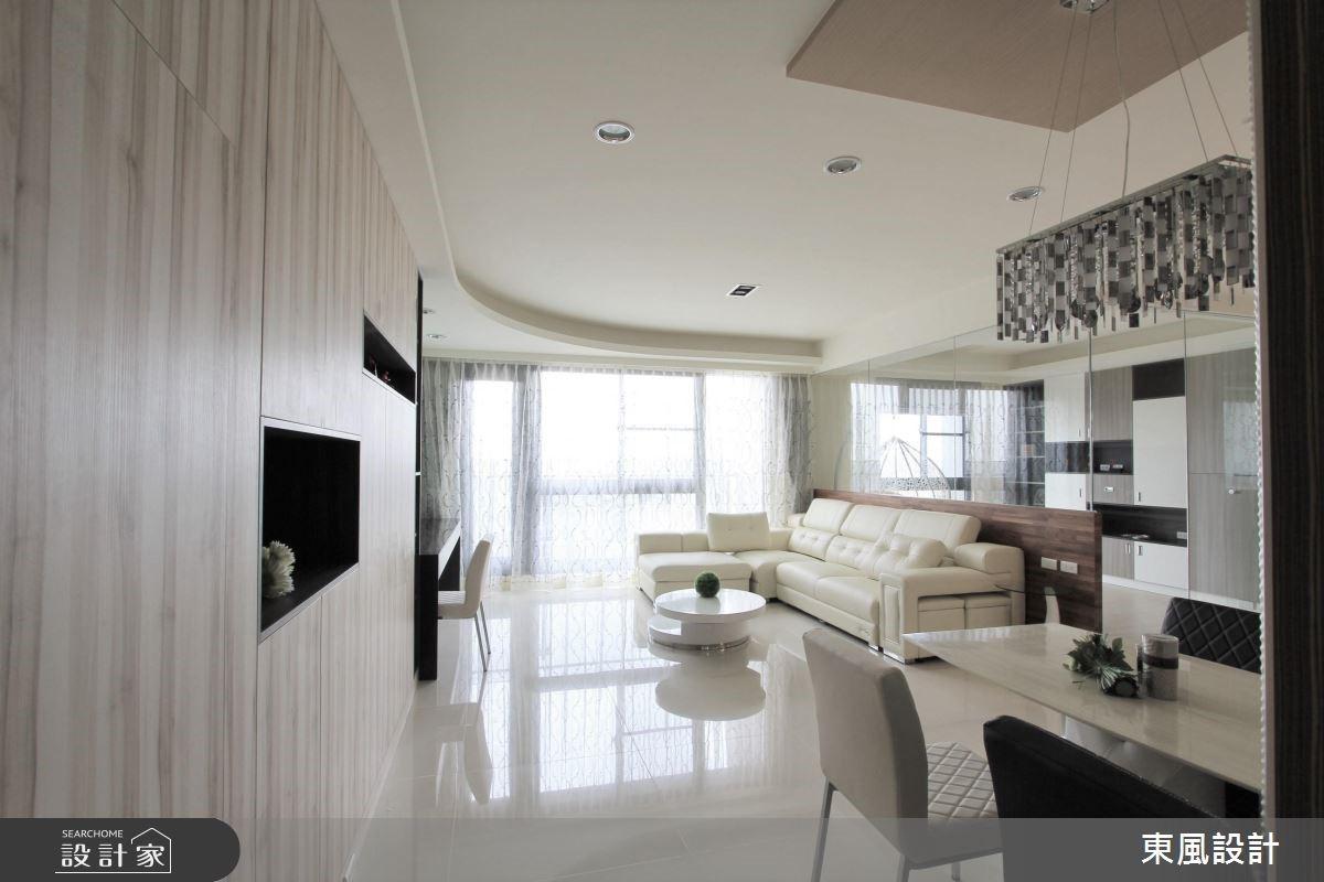 45坪新成屋(5年以下)_北歐風客廳餐廳案例圖片_東風室內設計_東風_18之1